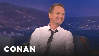 Neil Patrick Harris Bares All About His Sex Scenes  - CONAN on TBS