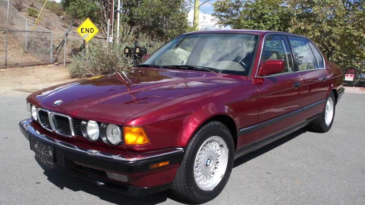Bmw E38 750il Owners Manual