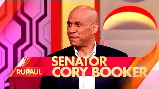 RuPaul Sits Down with Sen. Cory Booker, and Jack Osbourne