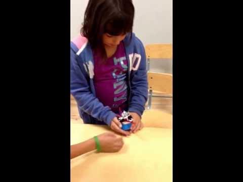 Darya's first robot!