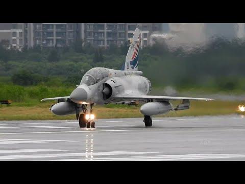 2020東京奧運選手載譽歸國  「幻象2000伴飛任務」China Airlines A350-900 (CI-101) getting Escorted by Fighter Jets
