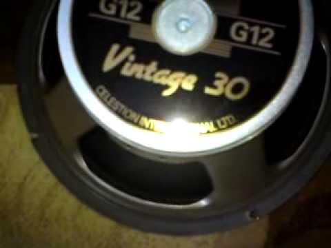 Harley Benton G212 Vintage Cabinet  - take a look inside