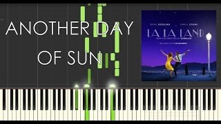 La La Land Soundtrack - Another Day of Sun - Piano Tutorial - Synthesia