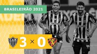 Atlético-MG 3 x 0 Sport - Gols - 18/09 - Brasileirão 2021