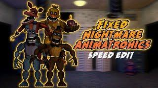 Speed Edit- All unwithered animatronics (FNAF 2) Videos
