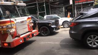 FDNY RESCUE 1 OUTSTANDING!!!!! (HORN BLASTED)
