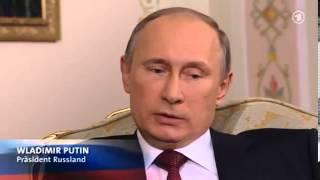 Putin nimmt schlecht vorbereiteten WDR Chefredakteur auseinander