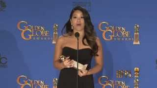 Gina Rodriguez Golden Globes 2015 Press Room Interview
