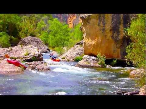 AIGUAROCA Kayak en Las Hoces del Cabriel