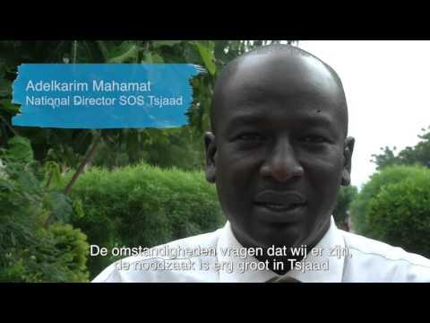 Familiepartners van SOS Kinderdorpen bezoeken projecten in Tsjaad