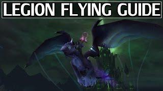 How to Unlock Flying in Legion - WoW Legion 7.2 Guide