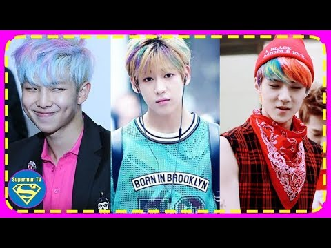 8 Idols Whose Rainbow Hair Proves They Can Rock All Colors