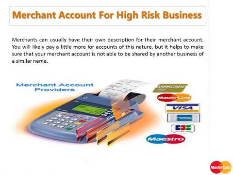Merchant Account For High Risk Business