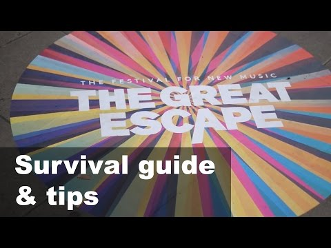 Great escape festival guide and tips 2017