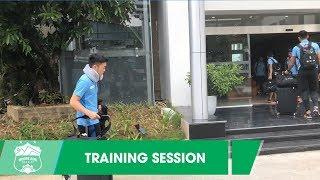 Tới Cẩm Phả, Xuân Trường và đồng đội sẵn sàng cho màn tái đấu với T. Quảng Ninh | HAGL Media