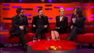 The Graham Norton Show   S10E03   Johnny Depp, Carey Mulligan, Ricky Gervais, Ed Byrne