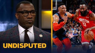 Harden and Westbrook won't win a title due to 'ball dominance' — Shannon Sharpe   NBA   UNDISPUTED