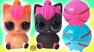 Mommy Cats ! LOL Surprise Biggie Pets Neon + Spicy Kitten with Mystery Blind Bags