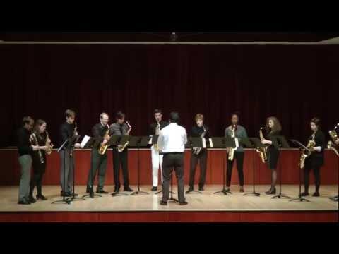 Corey Dundee - Drifting (2014) for saxophone ensemble