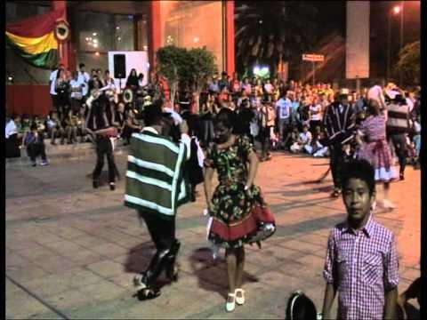 4 de agosto en Gran Canarias 187 independencia de Bolivia 2012
