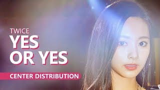 TWICE 트와이스 - YES OR YES | Center Distribution