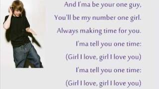 One Time - Justin Bieber Lyrics