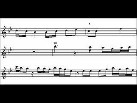 partitura - sax - bolero - ravel - antonio navarro
