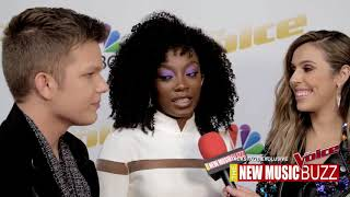 THE VOICE EXCLUSIVE BACKSTAGE COVERAGE - TEAM ALICIA