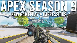 Apex Season 9 is HUGE! - New Legend Gameplay, Bow and Arena Mode