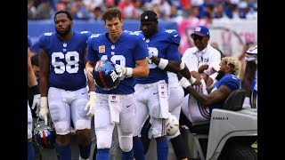 Giants QB Eli Manning starts over with new wide receivers