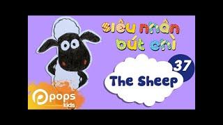 Hướng Dẫn Vẽ Con Cừu - Siêu Nhân Bút Chì - Tập 37 - How To Draw The Sheep