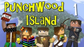 "Punchwood Island E01 ""Shipwrecked"" (Minecraft Family Survival)"