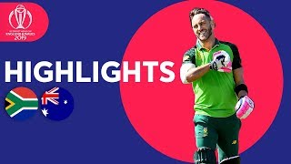 SA End Difficult CWC in Style | South Africa vs Australia - Highlights | ICC Cricket World Cup 2019