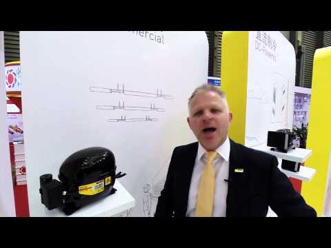 Interview 1 with Mogens Søholm CEO of Secop at China Refrigeration 2015