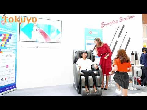 Giới thiệu ghế massage Tokuyo tại triển lãm Taiwan Expo 2019