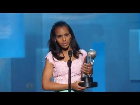 Kerry Washington - her speech at the 44th NAACP Image Awards ...