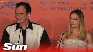 Quentin Tarantino hits back over Margot Robbie's lack of lines in Once Upon a Time in Hollywood