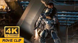 Avengers vs Ultron First Fight in 4K Ultra HD [Fight Scene]