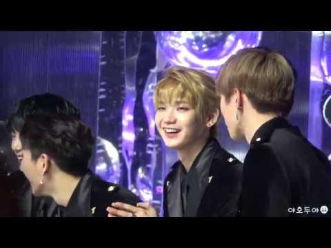 171202 MMA - JBJ Kenta Hyunbin reaction (켄타/권현빈 후보 소개 리액션)