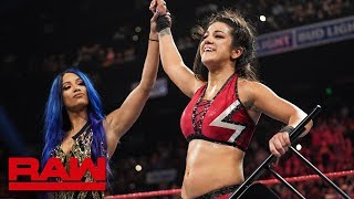 Bayley and Sasha Banks relish their attack on Becky Lynch: Raw Exclusive, Sept. 2, 2019