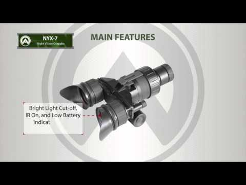 Armasight Nyx 7 Night Vision Goggles