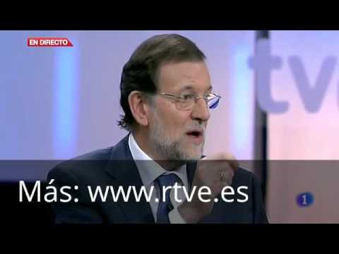 """Rajoy, en TVE: """"Si hay algo que no tocaré serán las pensiones"""""""