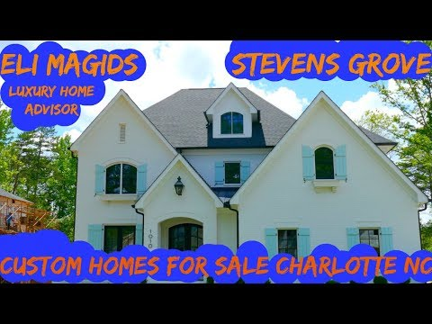 Luxury Charlotte Homes For Sale | Stevens Grove Neighborhood | New Custom Home Construction