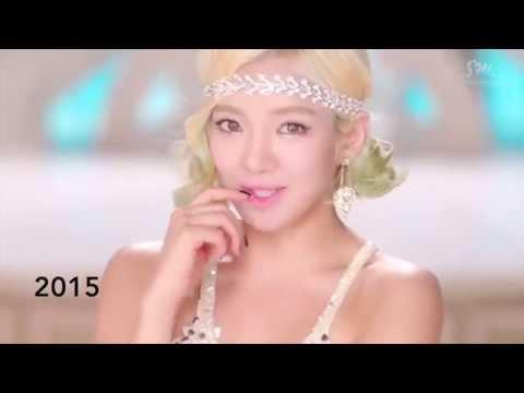 Snsd Hyoyeon Evolution