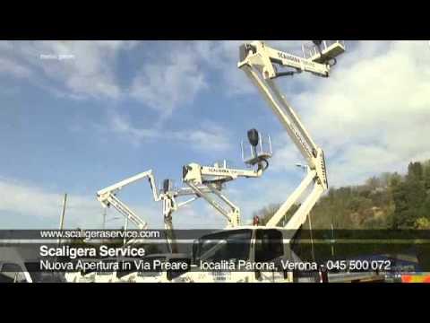 Noleggio piattaforme e autogru: nuova filiale Scaligera Service aperta a Verona Nord!