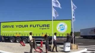 Début des travaux de la station GNLC de Proviridis au Port de Marseille Fos