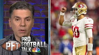 San Francisco 49ers about to enter historically tough stretch | Pro Football Talk | NBC Sports