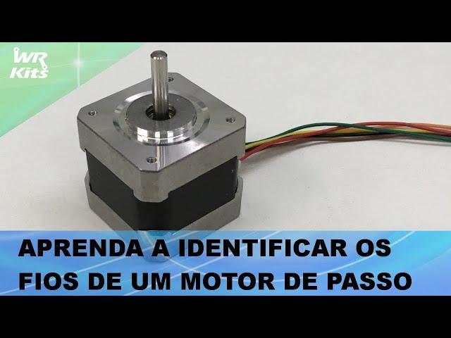 APRENDA A IDENTIFICAR OS FIOS DE UM MOTOR DE PASSO