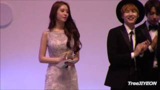 [FanCam] JIYEON #티아라 2015 Cable TV Broadcasting Awards (2)