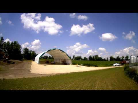 Daetwyler Farms Ltd  65' x 108 Atlas Building Series for Equipment Storage